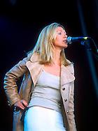 Sarah Cracknell - St Etienne / V Festival 98, Hylands Park, Chelmsford, Essex, Britain - August 1998.
