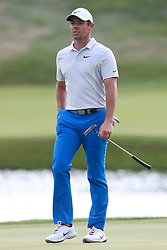 June 21, 2018 - Cromwell, Connecticut, United States - CROMWELL, CT-JUNE 21: Rory McIlroy walks the 17th green during the first round of the Travelers Championship on June 21, 2018 at TPC River Highlands in Cromwell, Connecticut. (Credit Image: © Debby Wong via ZUMA Wire)