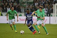 Fotball : Saint Etienne vs Bastia - League 1 - 18/09/2016<br /> <br />  Ole Selnæs (saint etienne) vs Lassana Coulibaly (bastia)<br /> Norway only