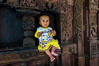 Hidimba Devi Temple, Manali, Himachal Pradesh, India.