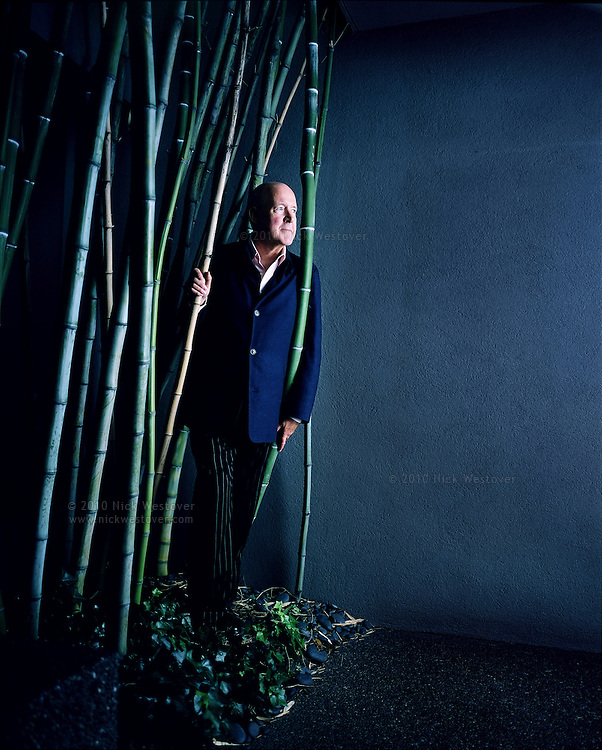 A portrait of designer Robert Ledingham at his offices in Vancouver, BC.