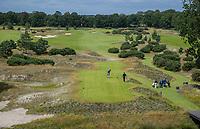 CROMVOIRT -  hole 1, Bernardus Golf is een golfbaan in Cromvoirt, die in 2018 is geopend. De 18-holes baan is een ontwerp van de baanarchitect Kyle Phillips. De baan is aangewezen voor het Dutch Open, .   COPYRIGHT KOEN SUYK