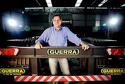 Marcos Guerra, da Guerra SA Implementos Rodoviários, na sede da empresa, em Caxias do Sul. FOTO: Jefferson Bernardes/Preview.com