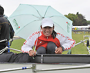 Henley, Great Britain.  General Views, GV's Chinese crews Rigging and sheltering from the rain.  Henley Royal Regatta, 2011 Henley Royal Regatta. River Thames Henley Reach.  Tuesday   28/06/2011  [Mandatory Credit Peter Spurrier/ Intersport Images] 2011 Henley Royal Regatta. HOT. Great Britain . HRR