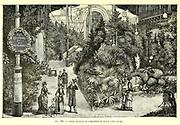 Munich Exposition From the Book Les merveilles de la science, ou Description populaire des inventions modernes [The Wonders of Science, or Popular Description of Modern Inventions] by Figuier, Louis, 1819-1894 Published in Paris 1867