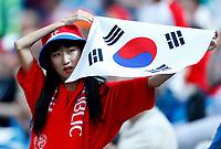 korea supporter<br /> Nizhny Novgorod 16-06-2018 Football FIFA World Cup Russia  2018 <br /> Sweden - South Korea / Svezia - Corea del Sud <br /> Foto Matteo Ciambelli/Insidefoto