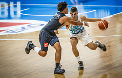Nemanic  Rok of Slovenia during basketball match between National teams of Slovenia and France in the Group Phase C of FIBA U18 European Championship 2019, on July 27, 2019 in Nea Ionia Hall, Volos, Greece. Photo by Vid Ponikvar / Sportida