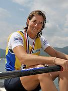 Banyoles, SPAIN,  GBR W1X,  Kath GRAINGER  Gold Medalist, women's single sculls, at the FISA World Cup Rd 1. Lake Banyoles.  Sunday,  31/05/2009   [Mandatory Credit. Peter Spurrier/Intersport Images]