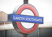 Gareth Southgate Station 16th July 2018