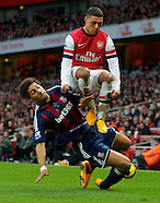 Arsenal v Stoke City 020213