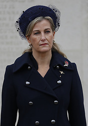EMBARGOED TO 1700 THURSDAY APRIL 15 File photo dated 11/11/20 of the Countess of Wessex who is one of the 30 members of the royal family who will be in attendance at the Duke of Edinburgh's funeral at Windsor Castle on Saturday. Issue date: Thursday April 15, 2021.
