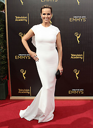 .Melora Hardin  attends  2016 Creative Arts Emmy Awards - Day 1 at  Microsoft Theater on September 10th, 2016  in Los Angeles, California.Photo:Tony Lowe/Globephotos