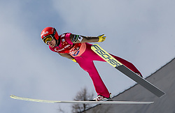 Jarkko Maeaettae (FIN) during Ski Flying Hill Men's Team Competition at Day 3 of FIS Ski Jumping World Cup Final 2017, on March 25, 2017 in Planica, Slovenia. Photo by Vid Ponikvar / Sportida
