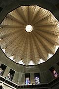 Israel, Galilee, Nazareth, Interior of the Basilica of the Annunciation.