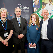 27.04.2016.          <br />  Kalin Foy and Ciara Coyle win SciFest@LIT<br /> Kalin Foy and Ciara Coyle from Colaiste Chiarain Croom to represent Limerick at Ireland's largest science competition.<br /> <br /> Desmond College student, Kayla McMahons project , IIntelligent Fire Extinguisher System won Technology, Junior First. Kayla is pictured with George Porter, SciFest and Brian Ahern, Intel<br /> <br /> Of the over 110 projects exhibited at SciFest@LIT 2016, the top prize on the day went to Kalin Foy and Ciara Coyle from Colaiste Chiarain Croom for their project, 'To design and manufacture wireless trailer lights'. The runner-up prize went to a team from John the Baptist Community School, Hospital with their project on 'Educating the Youth of Ireland about Farm Safety'. Picture: Fusionshooters