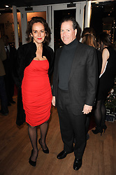 CAROLINE MICHEL and VISCOUNT LINLEY at a party to celebrate 25 years of the David Linley store , 60 Pimlico Road, London on 16th November 2010.