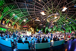 """14.05.2012, Hangar 7, Salzburg, AUT, Sport und Talk, Live aus dem Hangar 7, im Bild Uebersicht des Hangar 7 waehrend der Sendung // overview from the Hangar 7 during the Servus TV show """"Sport and Talk live at the Hangar 7, Salzburg, Austria on 2012/05/14, EXPA Pictures © 2012, PhotoCredit: EXPA/ Juergen Feichter"""