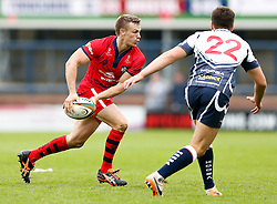 Bristol Scrum-Half Dwayne Peel (capt) in action - Photo mandatory by-line: Rogan Thomson/JMP - 07966 386802 - 14/09/2014 - SPORT - RUGBY UNION - Leeds, England - Headingley Carnegie Stadium - Yorkshire Carnegie v Bristol Rugby - Greene King IPA Championship.