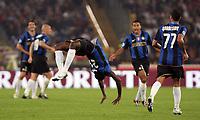 esultanza quarto gol Obinna (Inter)<br /> Roma vs Inter<br /> Campionato di Calcio Serie A.<br /> Stadio Olimpico, Roma, 19/10/2008.<br /> Photo Antonietta Baldassarre Inside