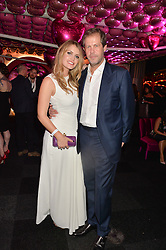 LADY KITTY SPENCER and Niccolo Barattieri di San Pietro at The Naked Heart Foundation's Fabulous Fund Fair hosted by Natalia Vodianova and Karlie Kloss at Old Billingsgate Market, 1 Old Billingsgate Walk, London on 20th February 2016.