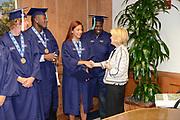 2013 FAU Graduating Seniors with President Saunders