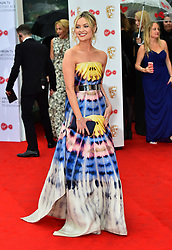 Laura Whitmore arriving for the Virgin TV British Academy Television Awards 2017 held at Festival Hall at Southbank Centre, London. PRESS ASSOCIATION Photo. Picture date: Sunday May 14, 2017. See PA story SHOWBIZ Bafta. Photo credit should read: Matt Crossick/PA Wire
