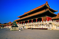 Gate of Supreme Harmony (Taihemen), Imperial Palace, The Forbidden City, Beijing, China