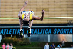 Ana Grajzl competes in High jump during day one of the 2020 Slovenian Cup in ZAK Stadium on July 4, 2020 in Ljubljana, Slovenia. Photo by Grega Valancic / Sportida