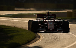 MELBOURNE, March 16, 2019  Ferrari's driver Sebastian Vettel competes during the Qualifying session of Formula 1 Australian Grand Prix 2019 at the Albert Park in Melbourne, Australia, March 16, 2019. (Credit Image: © Bai Xuefei/Xinhua via ZUMA Wire)