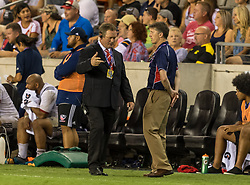 June 16, 2018 - Houston, Texas, US - USA Men's Rugby Team head coach Gary Gold during the Emirates Summer Series 2018 match between USA Men's Team vs Scotland Men's Team at BBVA Compass Stadium, Houston, Texas (Credit Image: © Maria Lysaker via ZUMA Wire)