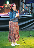 Gráinne Maguire live at the picnic at the castle,Warwick Castle photo by Brian Jordan
