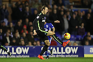 Brighton & Hove Albion centre forward Glenn Murray (17) during the EFL Sky Bet Championship match between Birmingham City and Brighton and Hove Albion at St Andrews, Birmingham, England on 17 December 2016.