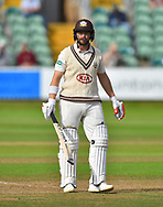 Mark Stoneman of Surrey during the opening day of the Specsavers County Champ Div 1 match between Somerset County Cricket Club and Surrey County Cricket Club at the Cooper Associates County Ground, Taunton, United Kingdom on 18 September 2018.