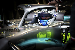 February 20, 2019 - Barcelona, Spain - BOTTAS Valtteri (fin), Mercedes AMG F1 GP W10 Hybrid EQ Power+, portrait during Formula 1 winter tests from February 18 to 21, 2019 at Barcelona, Spain - Photo  /  Motorsports: FIA Formula One World Championship 2019, Test in Barcelona, (Credit Image: © Hoch Zwei via ZUMA Wire)