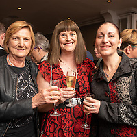 REPRO FREE<br /> Pictured at the opening of the 43rd Kinsale Gourmet Festival at the Blue Haven were Theresa Henderson, Kinsale; Claire O'Donovan, Cork County Council and Sharon Buckley, Kinsale.<br /> Picture. John Allen
