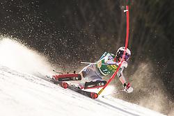 Kristin Lysdahl (NOR) during the Ladies' Slalom at 56th Golden Fox event at Audi FIS Ski World Cup 2019/20, on February 16, 2020 in Podkoren, Kranjska Gora, Slovenia. Photo by Matic Ritonja / Sportida