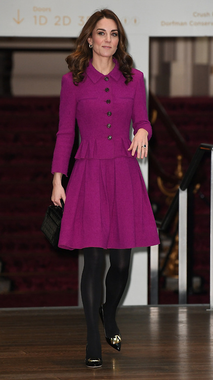 The Duchess of Cambridge visits the Costume Department at The Royal Opera House in London, UK, on the 16th January 2019. 16 Jan 2019 Pictured: The Duchess of Cambridge visits the Costume Department at The Royal Opera House in London, UK, on the 16th January 2019. Photo credit: James Whatling / MEGA TheMegaAgency.com +1 888 505 6342