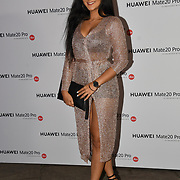 Sallyha Din attend Huawei - VIP celebration at One Marylebone London, UK. 16 October 2018.
