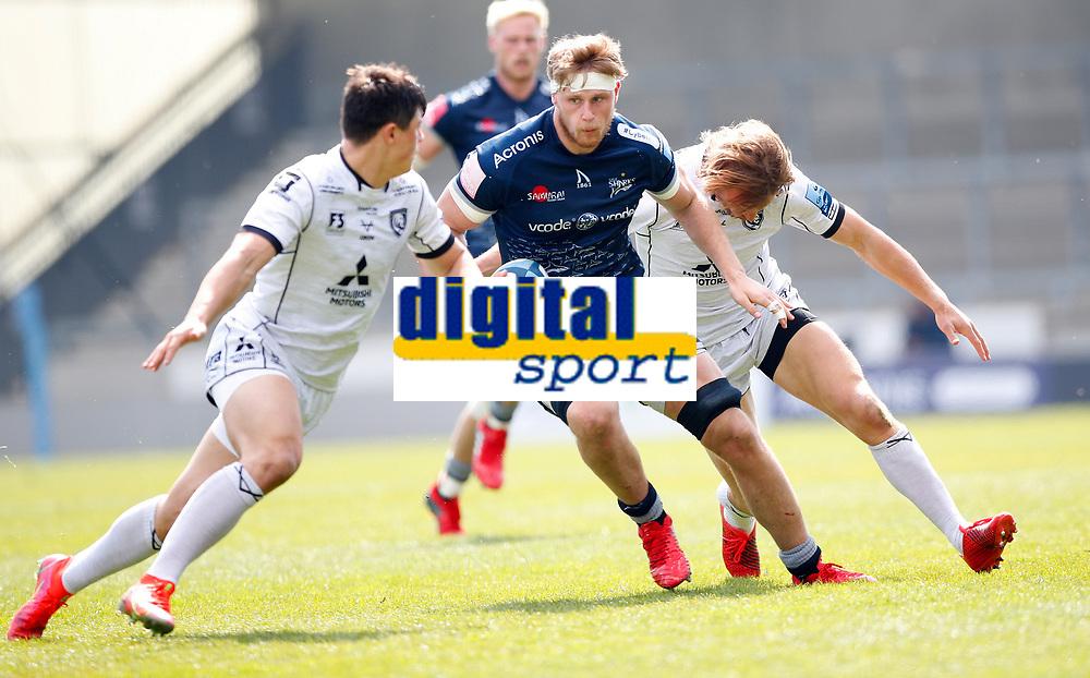 Caption Template Rugby Union - 2020 / 2021 Gallagher Premiership - Round 16 - Sale Sharks vs Gloucester - AJ Bell Stadium<br /> <br /> Daniel du Preez of Sale Sharks<br /> <br /> Credit COLORSPORT/LYNNE CAMERON