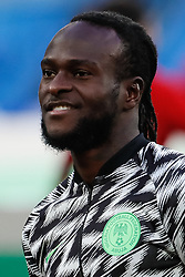 June 26, 2018 - Saint Petersburg, Russia - Victor Moses of Nigeria national team during the 2018 FIFA World Cup Russia group D match between Nigeria and Argentina on June 26, 2018 at Saint Petersburg Stadium in Saint Petersburg, Russia. (Credit Image: © Mike Kireev/NurPhoto via ZUMA Press)