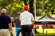 01-09-2016 Golffoto's van het Nationaal Open op de Hilversumsche Golf Club in Hilversum. Finale.  Floris de Haas
