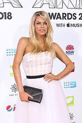 AU_1417480 - Sydney, AUSTRALIA  -  Nicole Kidman and Keith Urban Join Celebrities at the 32nd Annual ARIA Awards 2018 - Red Carpet Arrivals<br /> <br /> Pictured: Sophie Monk<br /> <br /> BACKGRID Australia 28 NOVEMBER 2018 <br /> <br /> BYLINE MUST READ: Brandon Voight / BACKGRID<br /> <br /> Phone: + 61 2 8719 0598<br /> Email:  photos@backgrid.com.au