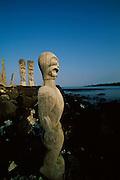 Puuhonua O Honaunau; City of Refuge Park; Island of Hawaii