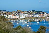 France, Finistère (29), Douarnenez, le port de Rosmeur // France, Briitany, Finistere, Douarnenez, Rosmeur harbour