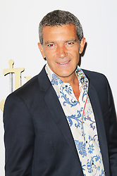 © Licensed to London News Pictures. 08/09/2013, UK. Antonio Banderas, Justin And The Knights of Valour UK film premiere, The May Fair Hotel, London UK, 08 September 2013. Photo credit : Richard Goldschmidt/Piqtured/LNP
