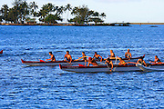 Outrigger Canoes, Hilo, Island of Hawaii