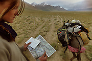 Pamir Postmen – following the rocky trail of the Afghan Kyrgyz: after walking for 27 days, we delivered 13 letters written by the Afghan Kyrgyz in exiled in Turkey, to the attention of relatives living throughout the Little Pamir. Most of them hadn't heard from their relatives since 1982. Here, finally, the last letter to be delivered from Mastana to Bibi Zia in Moqur.<br /> <br /> Adventure through the Afghan Pamir mountains, among the Afghan Kyrgyz and into Pakistan's Karakoram mountains. July/August 2005. Afghanistan / Pakistan.
