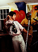 Mick Jagger  Rolling Stones during the Don't Look Back video shoot Strawberry Hill Jamaica 1978.