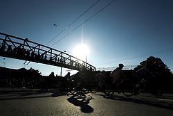 September 23, 2017 - Bergen, NORWAY - 170923 Cyclists compete during the Women Elite Road Race on September 23, 2017 in Bergen..Photo: Vegard Wivestad GrÂ¿tt / BILDBYRN / kod VG / 170026 (Credit Image: © Vegard Wivestad Gr¯Tt/Bildbyran via ZUMA Wire)