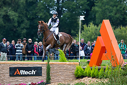 Sandra Auffarth, (GER), Opgun Louvo - Eventing Cross Country test - Alltech FEI World Equestrian Games™ 2014 - Normandy, France.<br /> © Hippo Foto Team - Shannon Brinkman<br /> 31/08/14